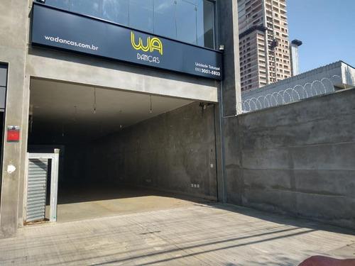 Salão Para Alugar, 216 M² Por R$ 9.000/mês - Tatuapé - São Paulo/sp - Sl0917