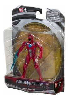 Power Rangers Filme - Ranger Vermelho - Bandai - 12cm