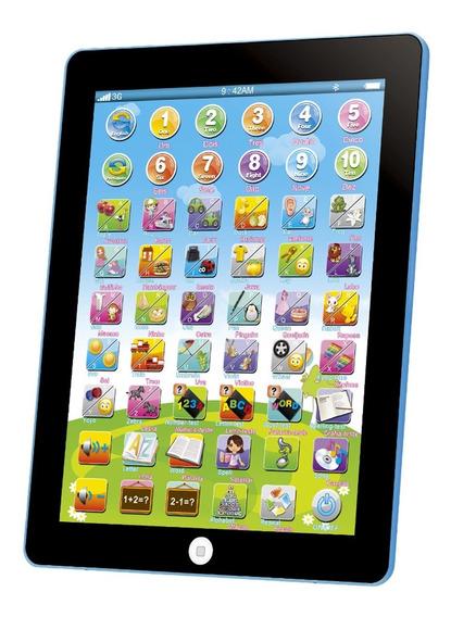 Magic Tablet Infantil Educativo 54 Funções Português Ingles
