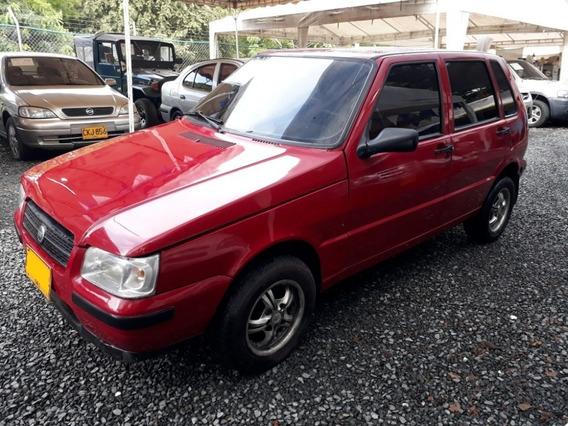 Fiat Uno Fire Motor 1.25 Rojo Alpine 5 Puertas