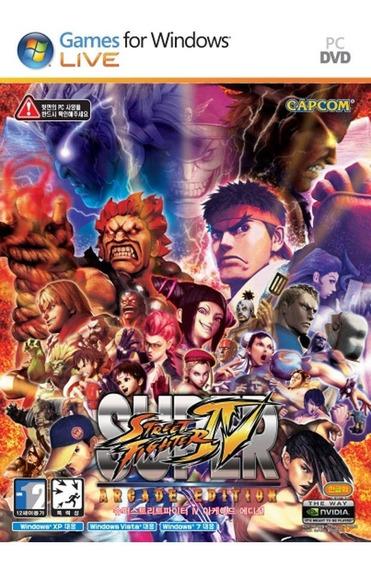 Super Street Fighter Iv Arcade Edition - Pc - Mídia Física