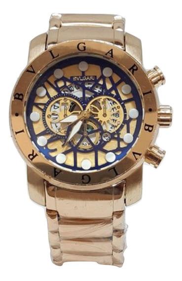 Relógio Bv Dourado Masculino