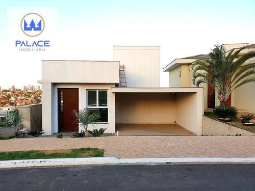 Casa Com 3 Dormitórios À Venda, 287 M² Por R$ 1.350.000,00 - Loteamento Residencial Reserva Do Engenho - Piracicaba/sp - Ca0493