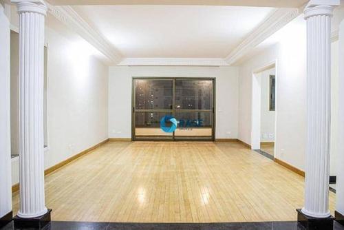 Apartamento Com 3 Suítes À Venda, 300 M² Por R$ 1.100.000 - Vila Suzana - São Paulo/sp - Ap11126