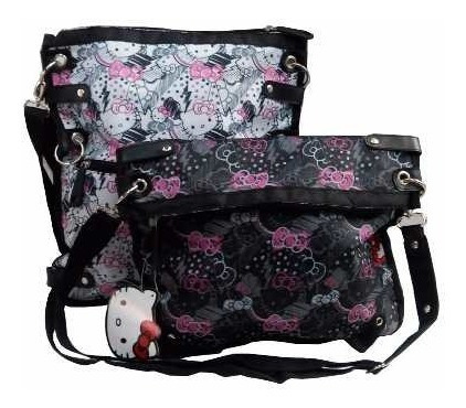 Morral 2 Posiciones 35 Cm Hello Kitty Teens Ploppy 814303