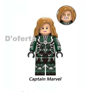 Figura Personaje Comp. Lego Antman Capitana Marvel Strange