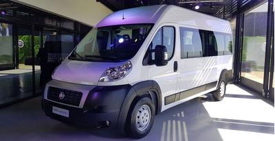 Fiat Ducato 0km Minibus -c. Prendario / $180.000 -e-