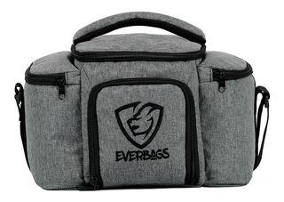 Bolsa Térmica Fitness Top - Preta Marmita Academia Everbags