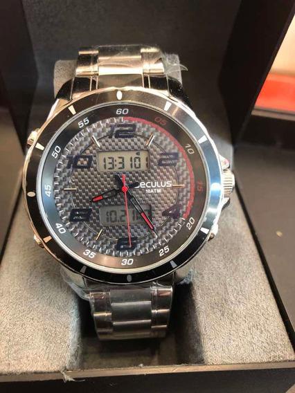 Relógio De Pulso Seculus Ana-digi, Referência 28771gosvna2