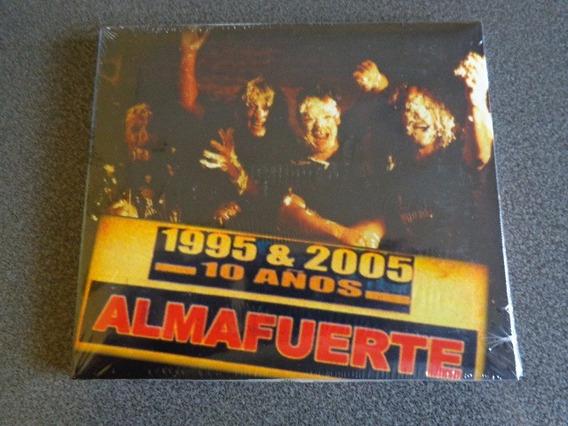 Almafuerte 10 Años 1995 & 2005 Cd Nuevo Cerrado.