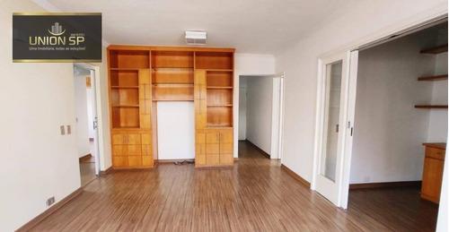 Apartamento Com 2 Dormitórios À Venda, 105 M² - Vila Mariana - São Paulo/sp - Ap49243