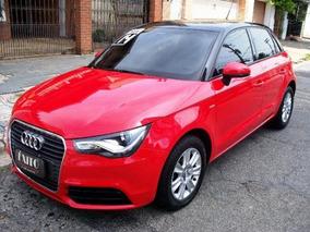 Audi A1 Sportback 1.4 Tfsi 5p S-tronic Vermelha 2014