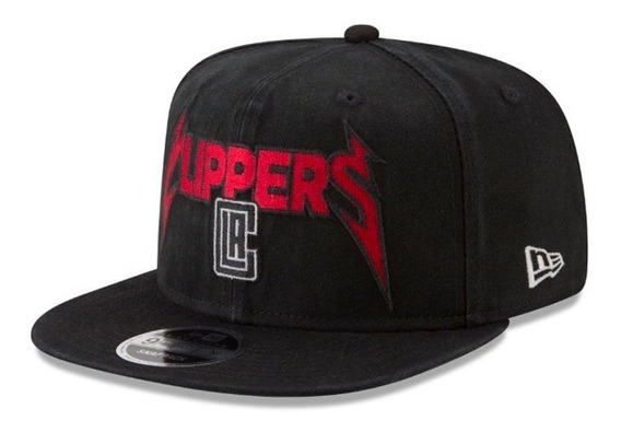 New Era Snapback 9fifty Los Angeles Clipp Nba (metallica)