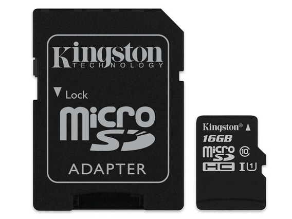 100 Cartões Micro Kingston Sdhc 16gb Classe 10 Canvas Select