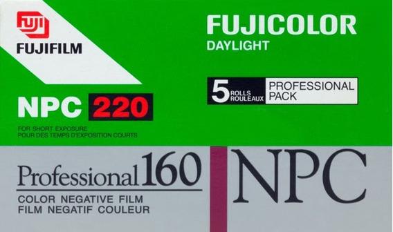 Filme Fujicolor Npc 160 - Formato 220, 3 Unid. - Venc. 2005