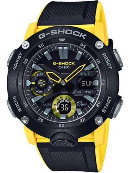 Imperdível Relógio G-shock Ga-2000-1a9dr Carbon Core Guard