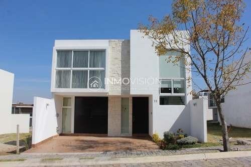 Casa Amueblada Y Equipada En Renta - Parque Campeche - Lomas De Angelópolis
