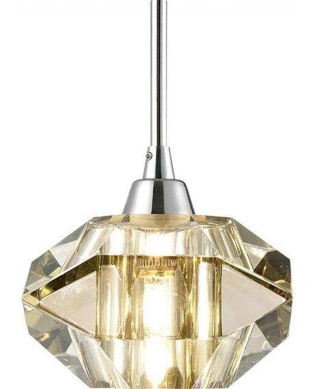 Pendente Cristal Lapidado Pe012/1.12co Isadora Design J