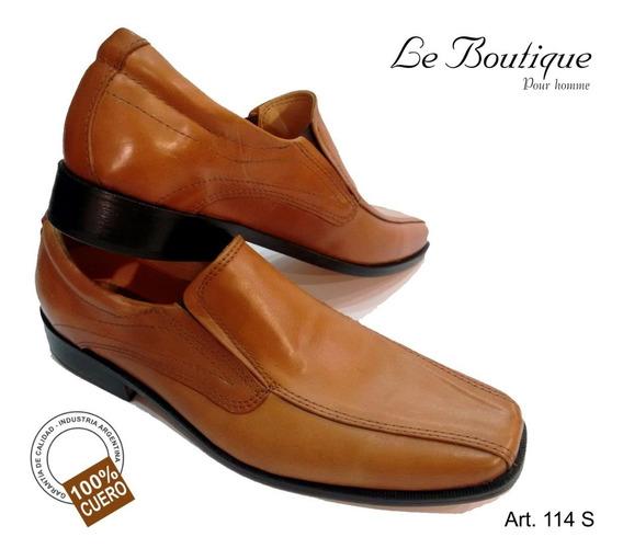 Zapato Vestir Pta Cuadrada Cuero Fo Notes 114 Suela Hot Sale