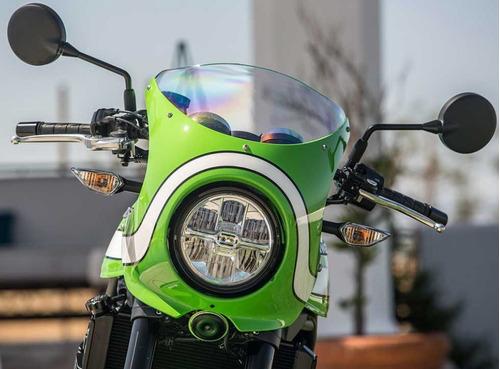 Kawasaki Z900 Rs Cafe 2020 Verde Blanca