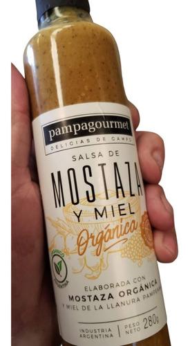 Salsa De Mostaza Con Miel Organica Pampagourmet 1x280g