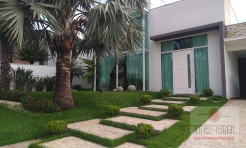 Maravilhosa Casa Com 4 Dormitórios À Venda, 367 M² Por R$  - Flora Ville - Boituva/sp - Ca2253