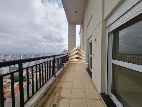 Imagem 1 de 30 de Cobertura Central Park 4 Dormitórios À Venda, 352 M² Por R$ 3.800.000 - Tatuapé - São Paulo/sp - Co0017