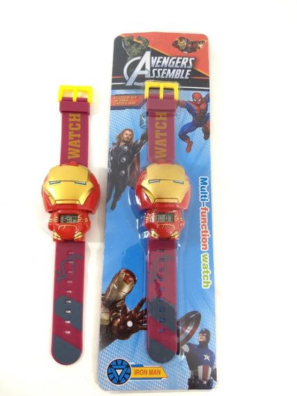 Relógio Homem De Ferro Infantil Promoção!!!