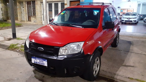 Ford Ecosport 1.6  Nafta Xl Plus Rojo 5 Puertas