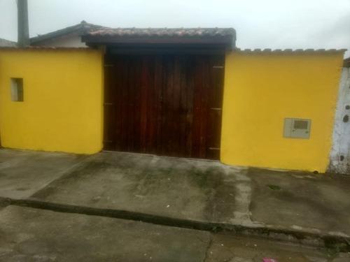 Casa Com Área De Serviço No Guapiranga - Itanhaém 5708   Npc