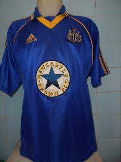 Camisa Newcastle Azul Anos 90