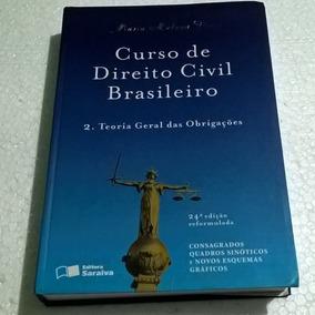 Livro Direito Civil Brasileiro 2 Teoria Geral Das Obrigações