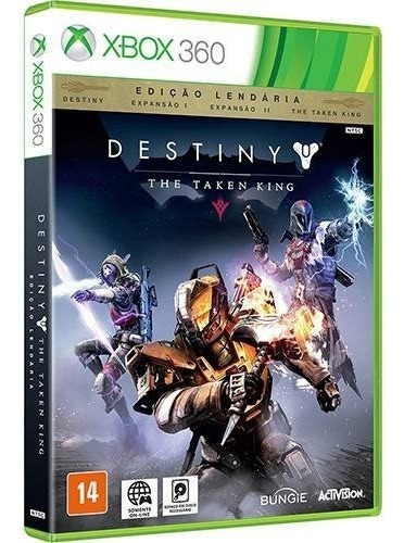 Destiny The Taken King Xbox 360 Novo Lacrado
