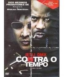 Contra O Tempo Jet Li- Dmx,  Dvd Original, Novo, Lacrado