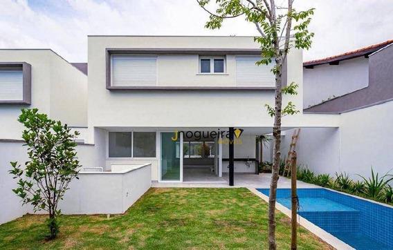 Casa Com 4 Dormitórios À Venda, 350 M² Por R$ 3.500.000 - Brooklin Velho - São Paulo/sp - Ca3632