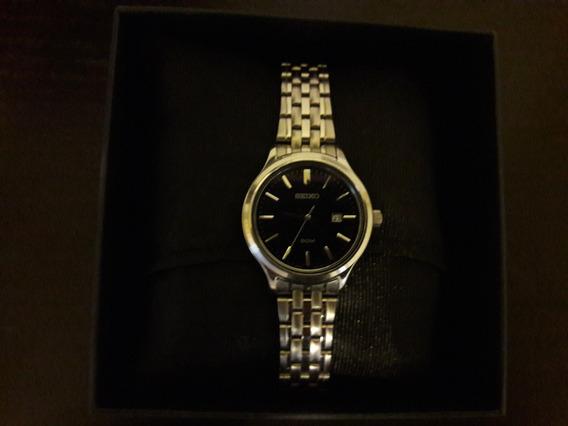 Reloj De Mujer Seiko Hermoso Como Nuevo! Poco Usado