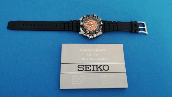 Relogio Seiko Velatura Scuba Diver Snda63p1 Chrono Japan