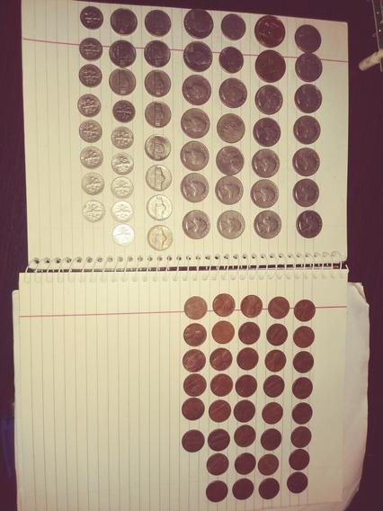 Monedas Estados Unidos Varias