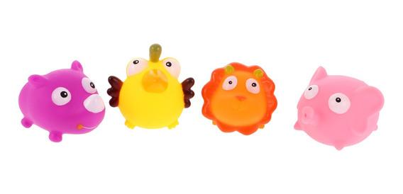 Plástico Macio Flutuador Sqeeze Som Bebê Crianças Lavagem