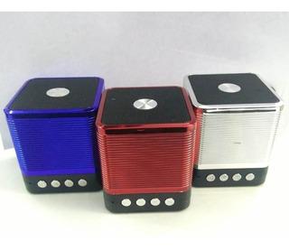 Parlante Bluetooth Portatil Inova Resistente Colores Portable Usb Tarjeta Sd 3w Potente Manos Libres