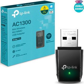 Adaptador Tp Link Wireless Archer T3u Ac1300 Dual Band