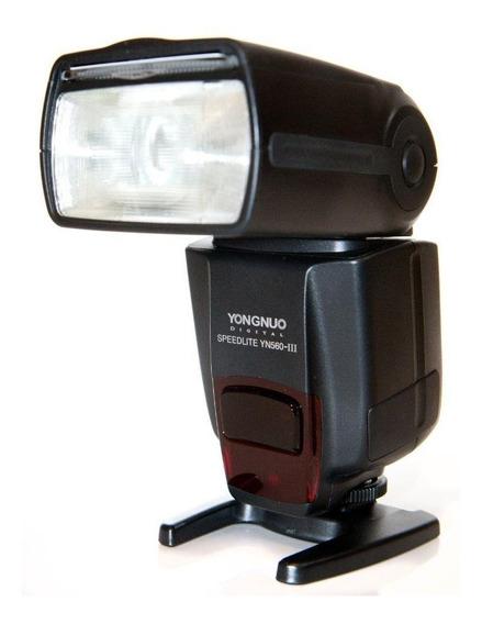 Flash Yongnuo Yn 560 Ill Speedlite P/ Câmeras Canon E Nikon