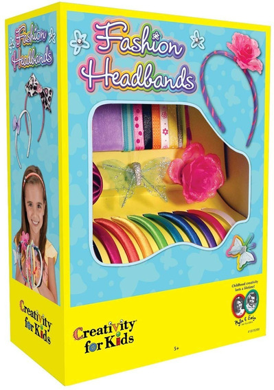 Creativity For Kids Set Para Hacer Diademas Niña Fiesta