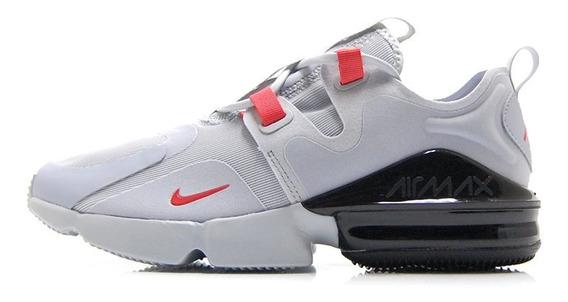 Tenis Nike Air Max Infinity Gris/rojo Bq3999 005