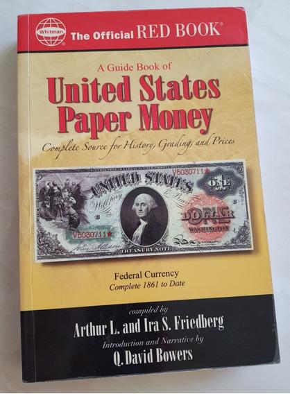 Livro Em Inglês Moedas United States Paper Money Red Book