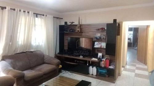 Sobrado Com 3 Dormitórios À Venda, 308 M² Por R$ 720.000,00 - Vila Lucinda - Santo André/sp - So2998