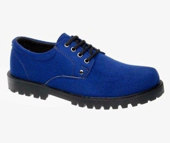 Sapato Cano/gáspea Fearnothi Camurça
