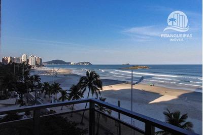Apartamento Com 4 Dormitórios À Venda, 200 M² Por R$ 1.600.000,00 - Pitangueiras - Guarujá/sp - Ap4826