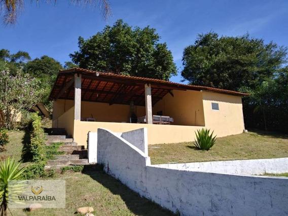Chácara Com 2 Dormitórios À Venda, 10000 M² Por R$ 440.000 - Itapeva - Paraibuna/sp - Ch0005