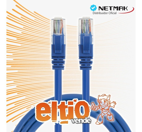 Cable Utp Patch Cord 10 M - Noganet